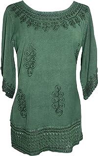 Agan Traders 143 B Medieval Rennaissance Peasant Gypsy Ari Lace Blouse Top