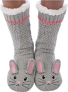 Women Sherpa Socks | Animal Sherpa Socks for Women | Cozy Animal Socks