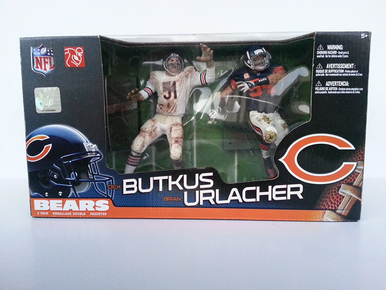McFarlane Toys NFL Sports Picks Action Figure 2Pack Dick Butkus Brian Urlacher (Chicago Bears)