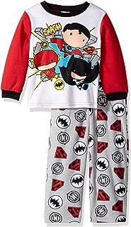 DC Comics Boys' The Justice League 2-piece Fleece Pajama Set