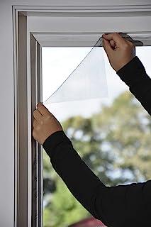 Vliegengaas, raam, 150 x 180, antraciet, individueel in te korten, insectenbescherming, vliegennet, raamnet, muggennet, mu...