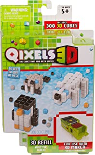 Qixels Season 4 3D Refill Pack Arctic Wild Toy