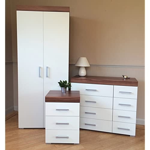 Wood Bedroom Furniture Set Amazon Co Uk