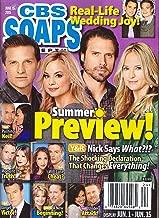 * SUMMER PREVIEW! * Steve Burton, Jessica Collins, Joshua Morrow & Sharon Case - June 15, 2015 CBS Soaps In Depth Magazine [SOAP OPERA]