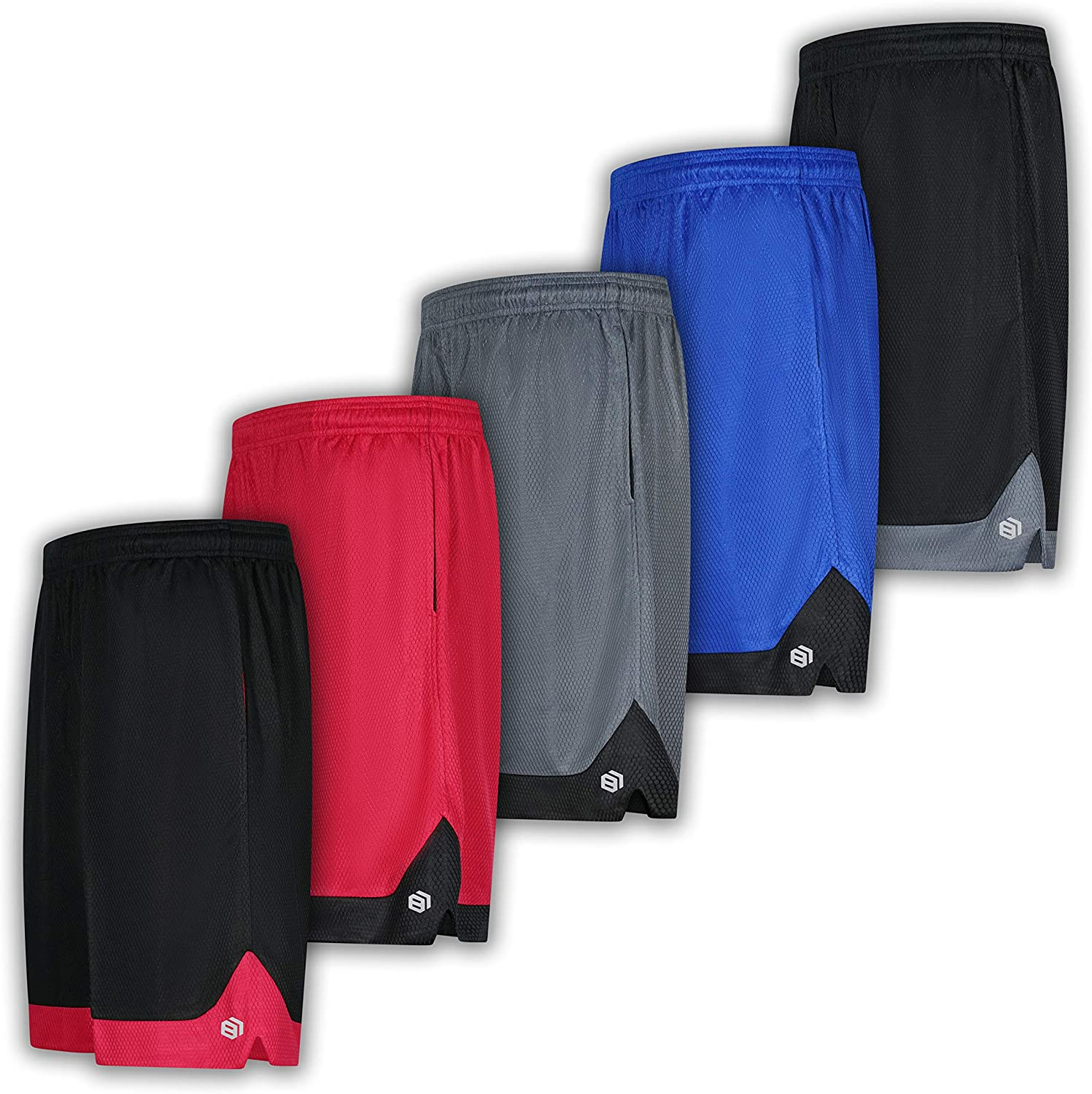 Men's Premium Moisture Wicking Active OFFicial Outlet ☆ Free Shipping shop Performance Short Athletic