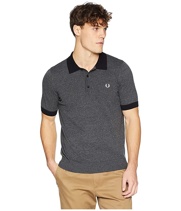b41124286f Fred Perry Contrast Trim Knitted Shirt   6pm