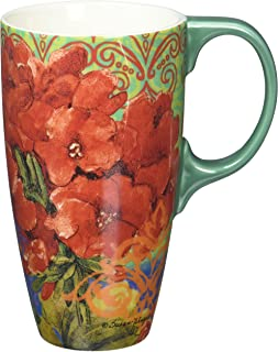 Lang Boho Garden Latte Mug by Susan Winget, Multicolored
