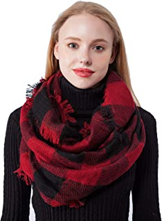 Best red black scarf Reviews