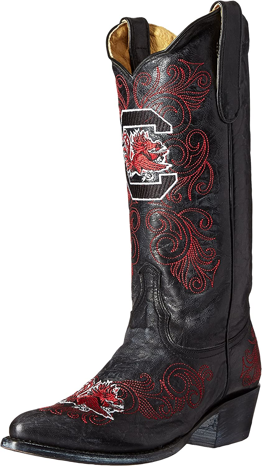 NCAA Womens Ladies 13 Inch University South Carolina Gameday Boot