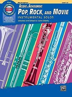 AOA Pop, Rock, and Movie Instrumental Solos: Alto Saxophone, Book & CD (Instrumental Solos Series)