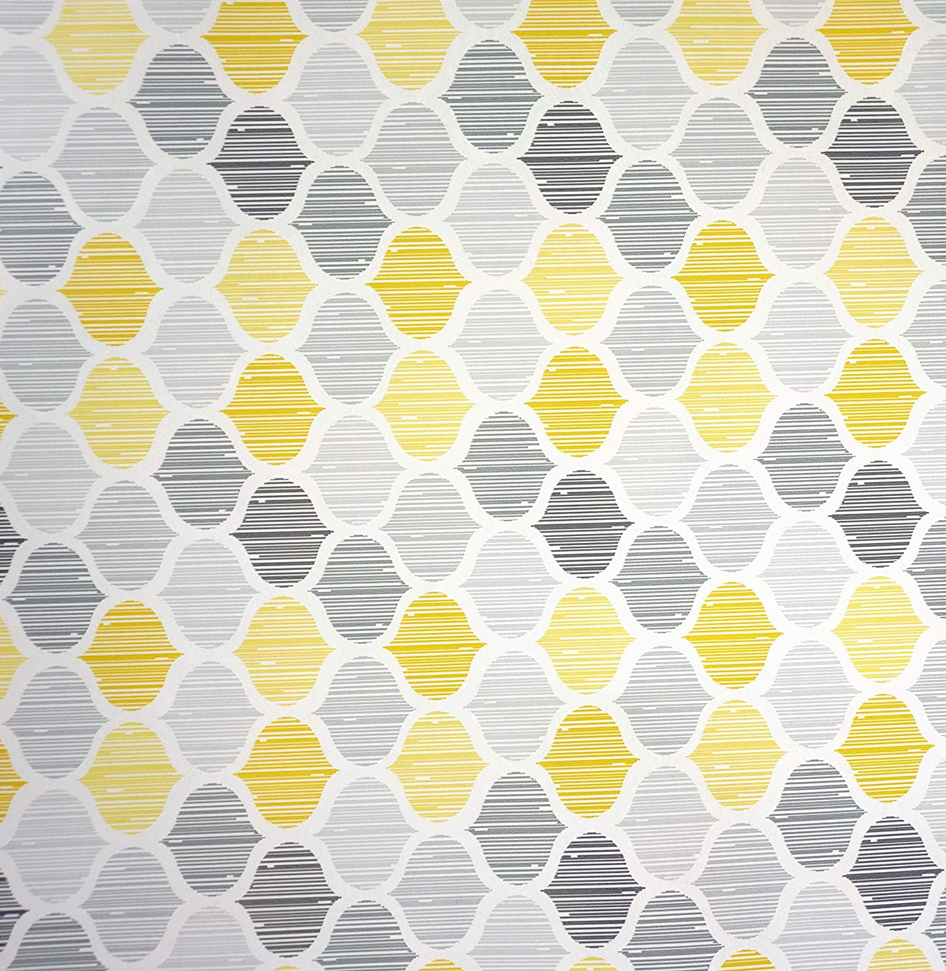Honeycomb Bee Hive Gift Wrapping Paper Flat Sheet - 24