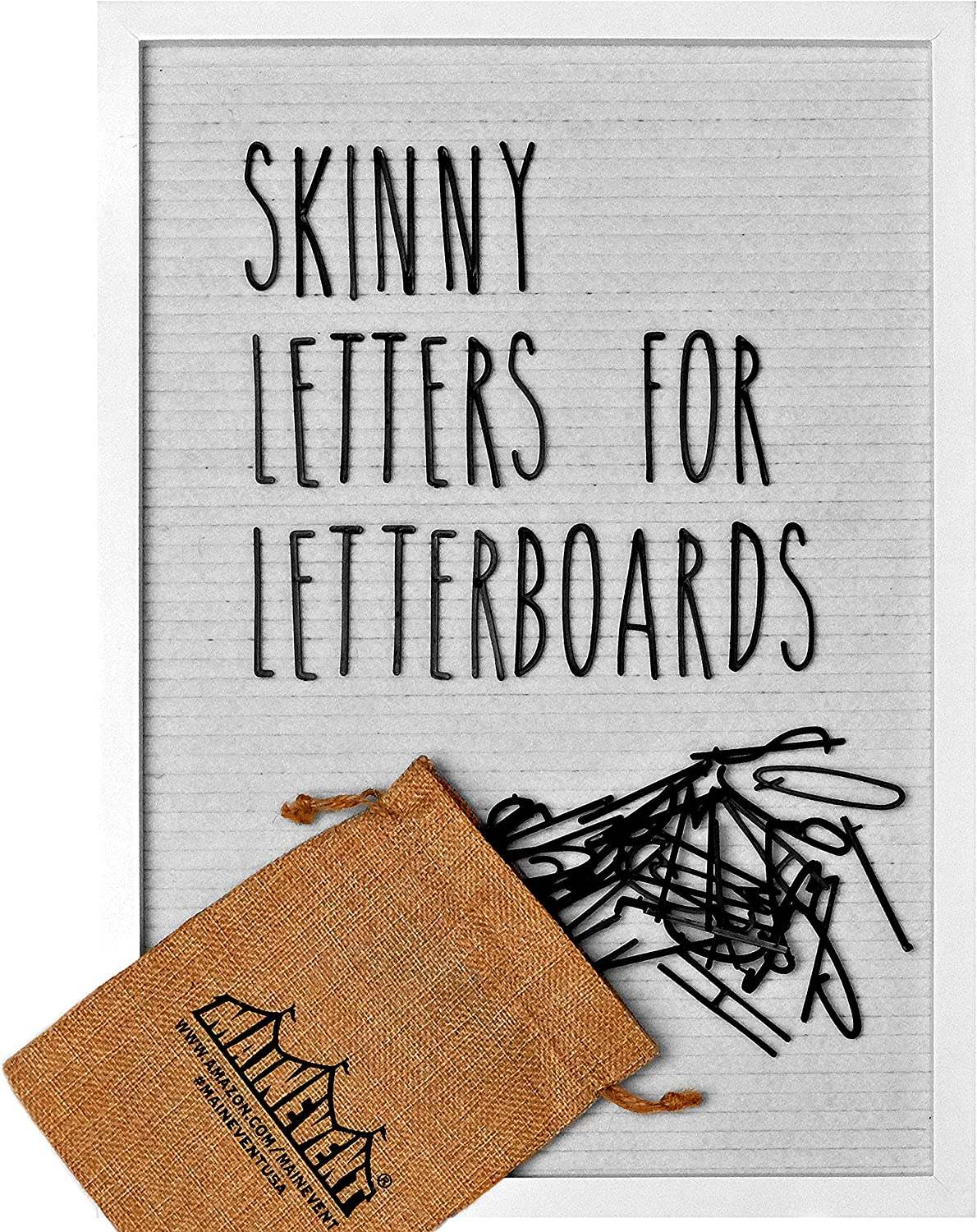 Skinny In stock Letterboard Letters Set Rae Inspired Font gift Dunn f