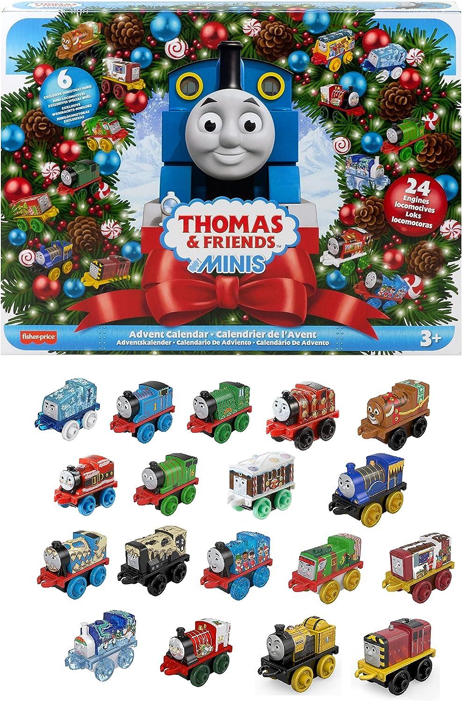 Fisher-Price Thomas & Friends MINIS Advent Calendar 24 miniature push-along toy trains