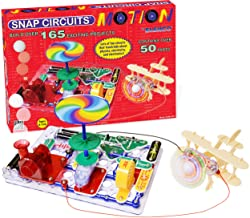 Snap Circuits Motion Electronics Exploration Kit   Over 165 Exciting STEM Projects   4-Color Project Manual   50+ Snap Mod...