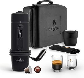 HANDPRESSO - New Handpresso Auto Set Capsule 21021 - Coffret machine a cafe expresso, cafetière portable pour voiture et c...
