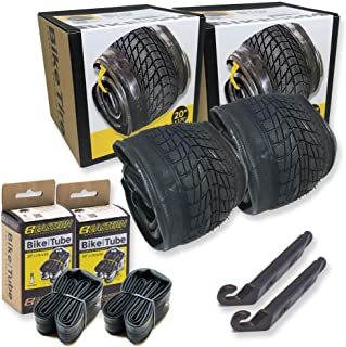 Eastern Bikes 20 Inch Bike Tire Packages for Kids and BMX Tires. Fits 20x1.75 Bike Tube, Tire, Rims, Front or Rear Wheels....