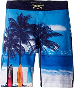 Appaman Kids Scenic Beach Swim Trunks (Toddler/Little Kids/Big Kids)