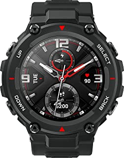 "Amazfit T-Rex Smartwatch - 12 Military Certifications, 20-Day Battery Life, Tough Body, 1.3"" AMOLED Display, 5 ATM Water-R..."