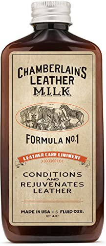 2021 Leather online Milk Conditioner and Cleaner for Furniture, Cars, Purses and Handbags. All-Natural, Non-Toxic Conditioner Made in the USA. Leather Care Liniment No. 1. 2 Sizes. Includes high quality Premium Applicator Pad online sale