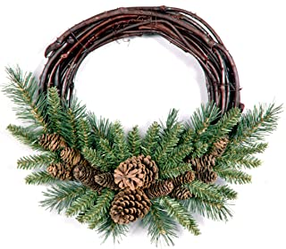 grapevine winter wreaths