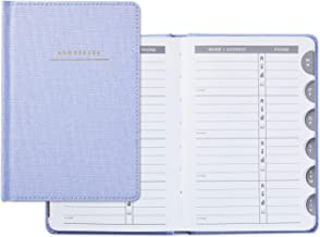 Hallmark Hardcover Address Book (Blue Chambray)