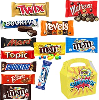 Mars Selection Box - 12 Full Size Candy Treats in a Surprise Candy Gift Box.