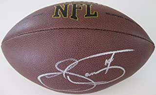 Sammy Watkins, Kansas City Chiefs, LA Rams, Signed, Autographed, NFL Football, a COA with the Proof Photo of Sammy Signing the Football Will Be Included