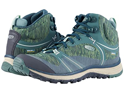 Keen Terradora Mid Waterproof (Duck Green/Quiet Green) Women