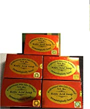 LOT OF 5 bars Kojic acid soap by Dr alvin professional and skin care fomula
