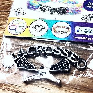 Lacrosse Charm (Bracelet OR Necklace)