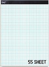 "Mr. Pen Graph Paper, Grid Paper, 4x4 (4 Squares per inch), 11""x8.5"", 55 Sheet"