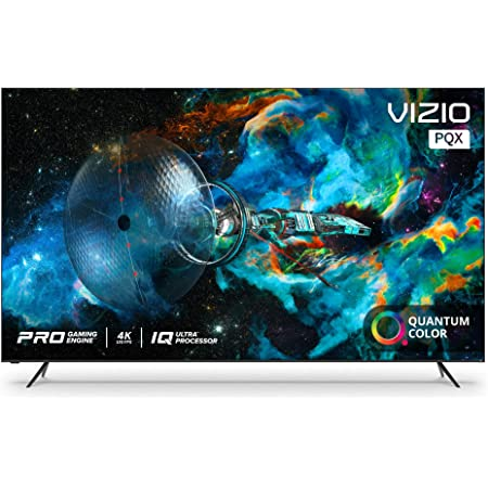 VIZIO 75-inch P-Series Quantum X 4K UHD LED HDR Smart TV with Apple AirPlay and Chromecast Built-in, Dolby Vision, HDR10+, HDMI 2.1, 4K@120fps, Variable Refresh Rate & AMD FreeSync Premium Gaming