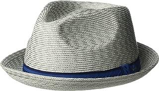 Men's Mannes Braided Fedora Trilby Hat