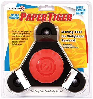 6 Pk Zinsser Paper Scraper Plastic Wallpaper Remover Tool 2986