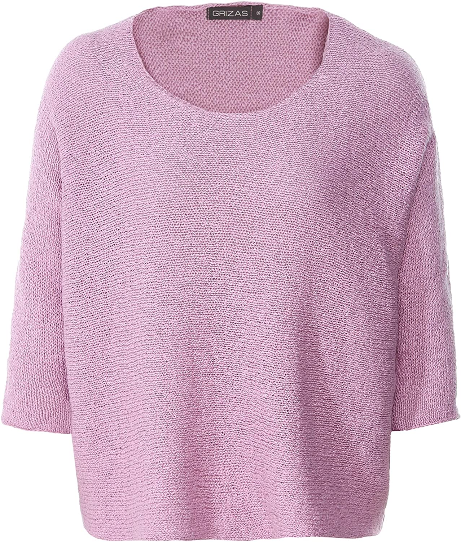 Grizas Women's Hemp Cotton Jumper Pink
