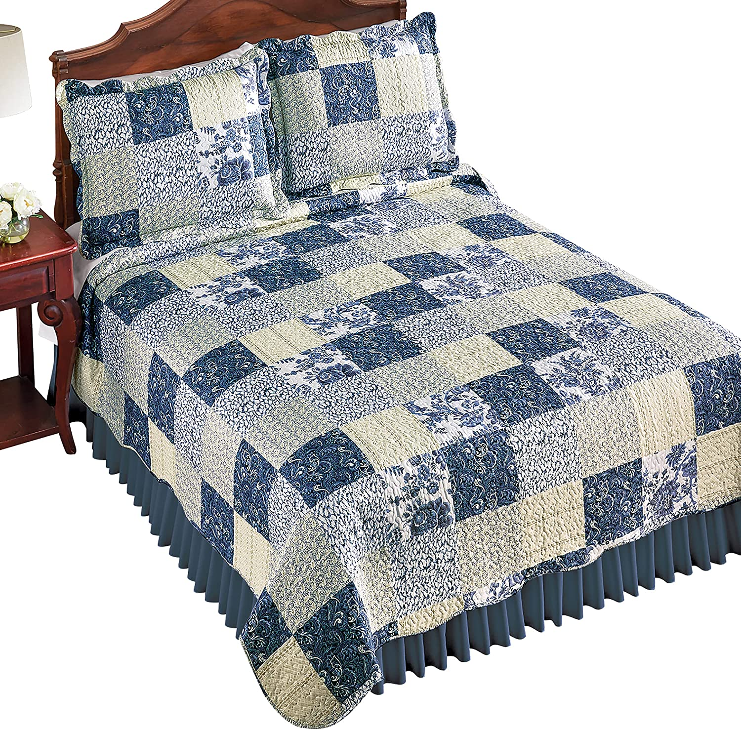 Floral Paisley Pattern Quilt Printed Patchwork Limited price sale Max 55% OFF