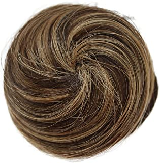 PRETTYSHOP 100% Human Hair UP DO Ballerina Knoten Donut Bun Topknot Scrunchie Hairpiece H311k