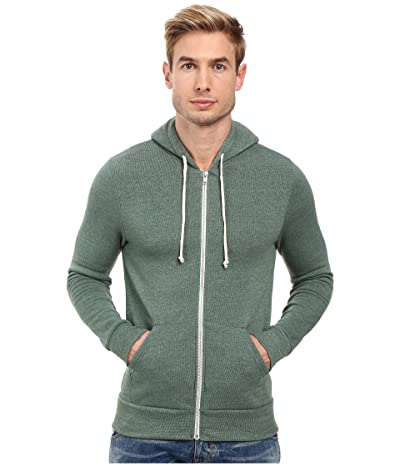 Alternative Rocky Zip Hoodie (Eco True Dusty Pine) Men