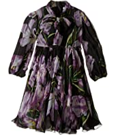 Dolce & Gabbana Kids - City Tulip Chiffon Dress (Toddler/Little Kids)