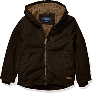 Cherokee - Kid's Outerwear Boys' Big Washed Canvas Jacket