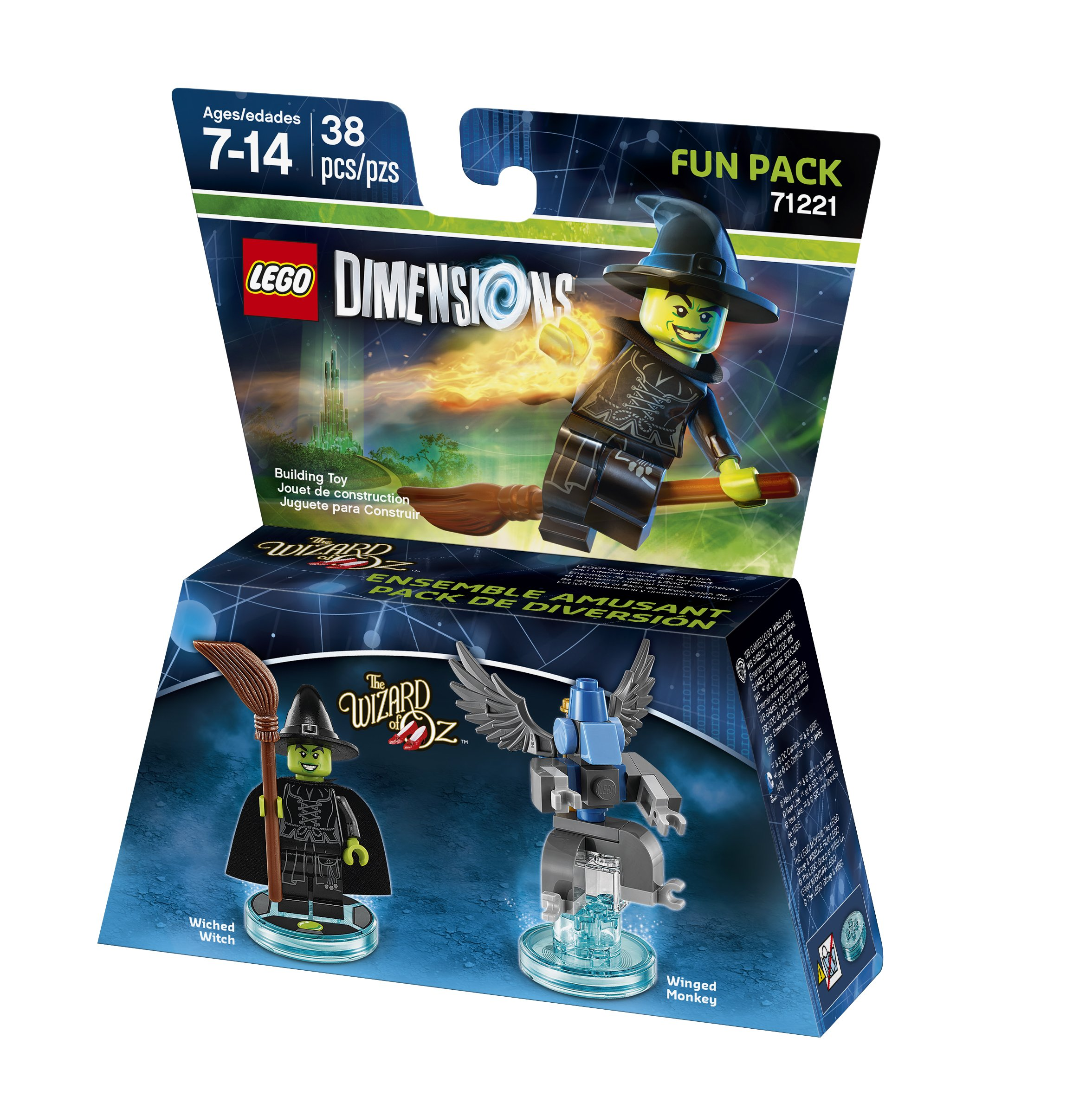 Wizard of Oz Wicked Witch Fun Pack - LEGO Dimensions by Warner Home Video - Games: Amazon.es: Videojuegos