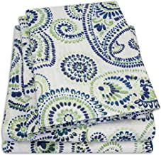 1500 Supreme Collection Extra Soft Modern Paisley Pattern Sheet Set, Queen - Luxury Bed Sheets Set with Deep Pocket Wrinkle Free Hypoallergenic Bedding, Trending Printed Pattern, Queen Size