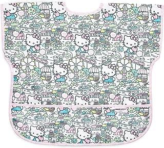 Bumkins Hello Kitty Junior Bib/Short Sleeve Toddler Bib/Smock 1-3 Years, Waterproof, Washable, Stain & Odor Resistant