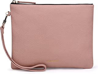 Best navy leather wristlet Reviews