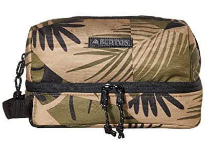 Burton Low Maintenance Kit (Martini Olive Woodcut Palm) Travel Pouch