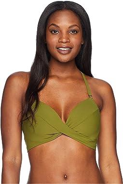 Ava D-Cup Twist Bikini Top