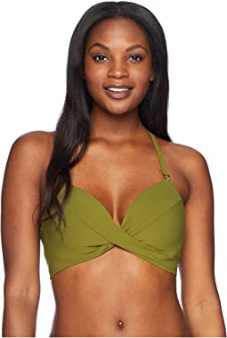 Robin Piccone Ava D-Cup Twist Bikini Top