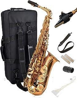 جدید! Herche Superior Alto Saxophone M2 به روز شده است! | ابزار حرفه ای برای همه سطوح | بالا F