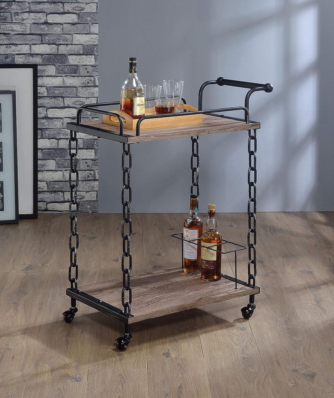 HomeRoots Kitchen 285817-OT Carts, Multicolor