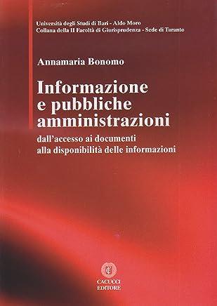 Informazione e pubbliche amministrazioni